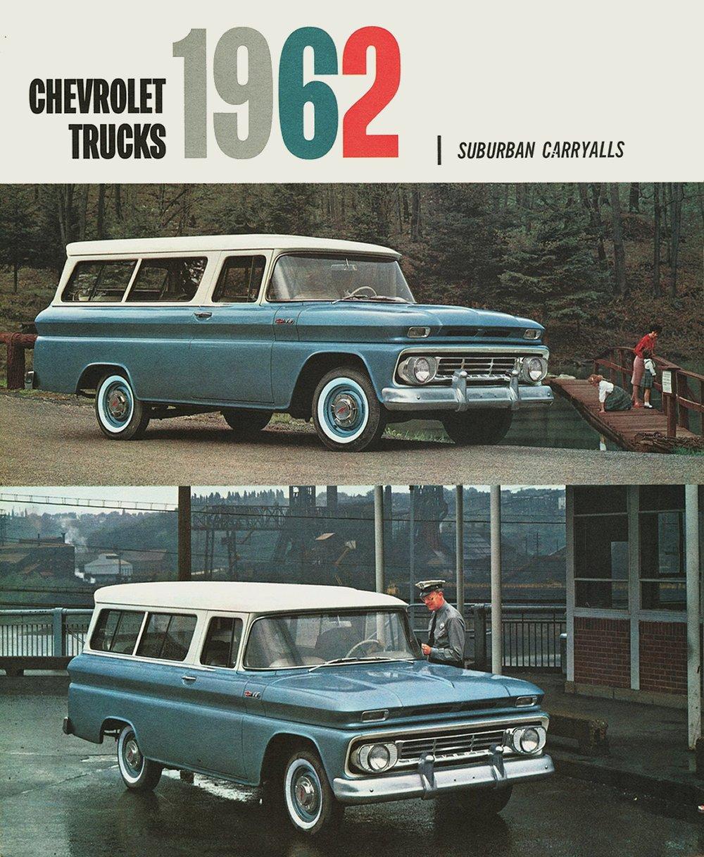1962 chevrolet suburban carryall