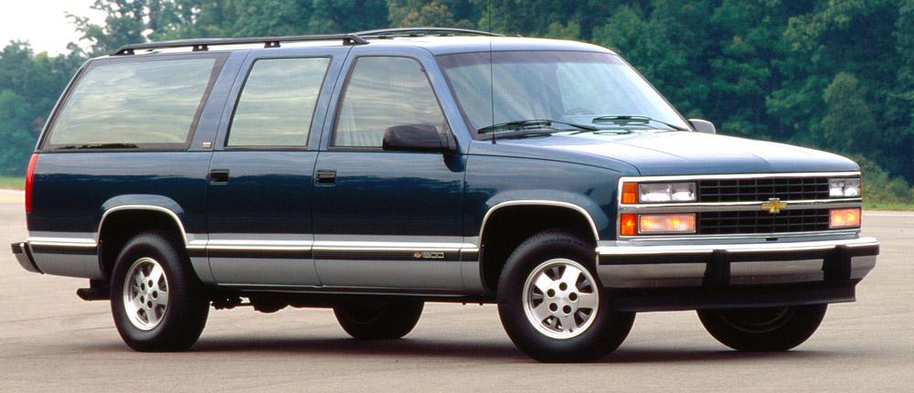 Chevrolet Suburban History Generation 9 1992 - 1999