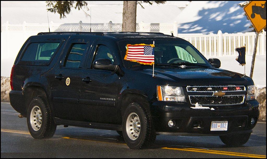 2010 Chevrolet Suburban United States Secret Service